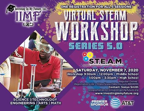 IMMF Virtual STEAM Workshop Series 5.0