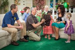 marie w/ kids & animals trainers