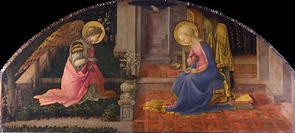 Annunciation, Lippi.png