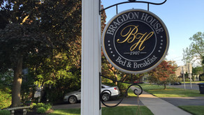 Our Stay at The 1907 Bragdon House Bed and Breakfast in Geneva, NY