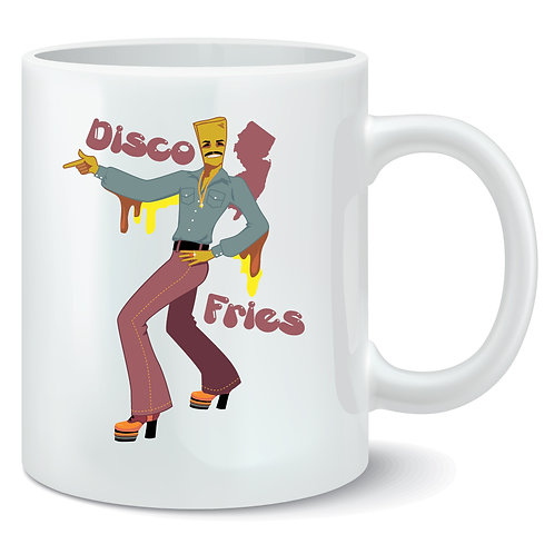 Disco Fries Coffee Mug