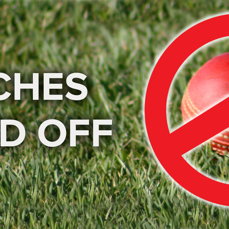 All matches scheduled for this weekend, Saturday 06/02/2021 are postponed.