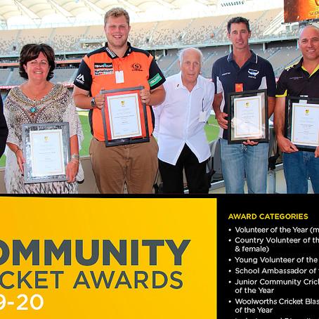 WA Community Cricket Awards 2019-20