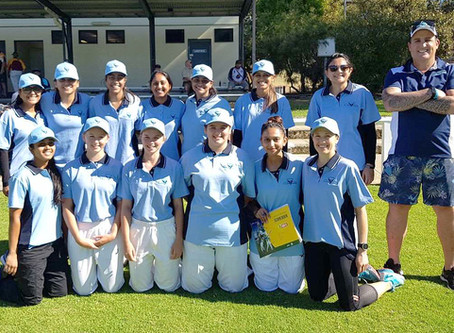 PCA Women taste their first victory...