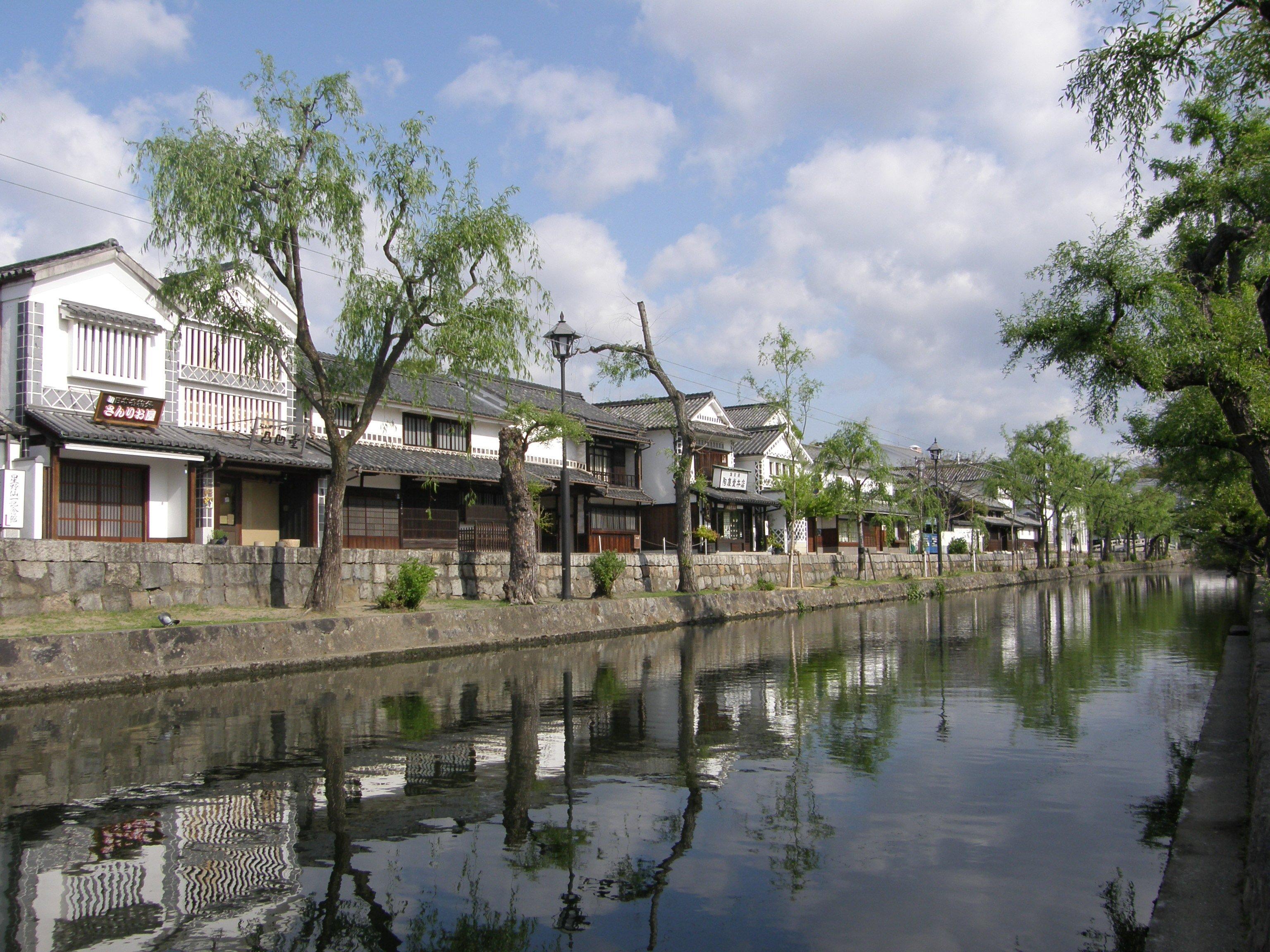 倉敷川/美観地区/倉敷市