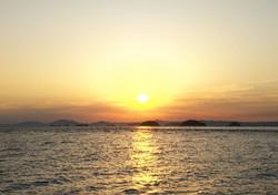 瀬戸の夕日/児島/倉敷