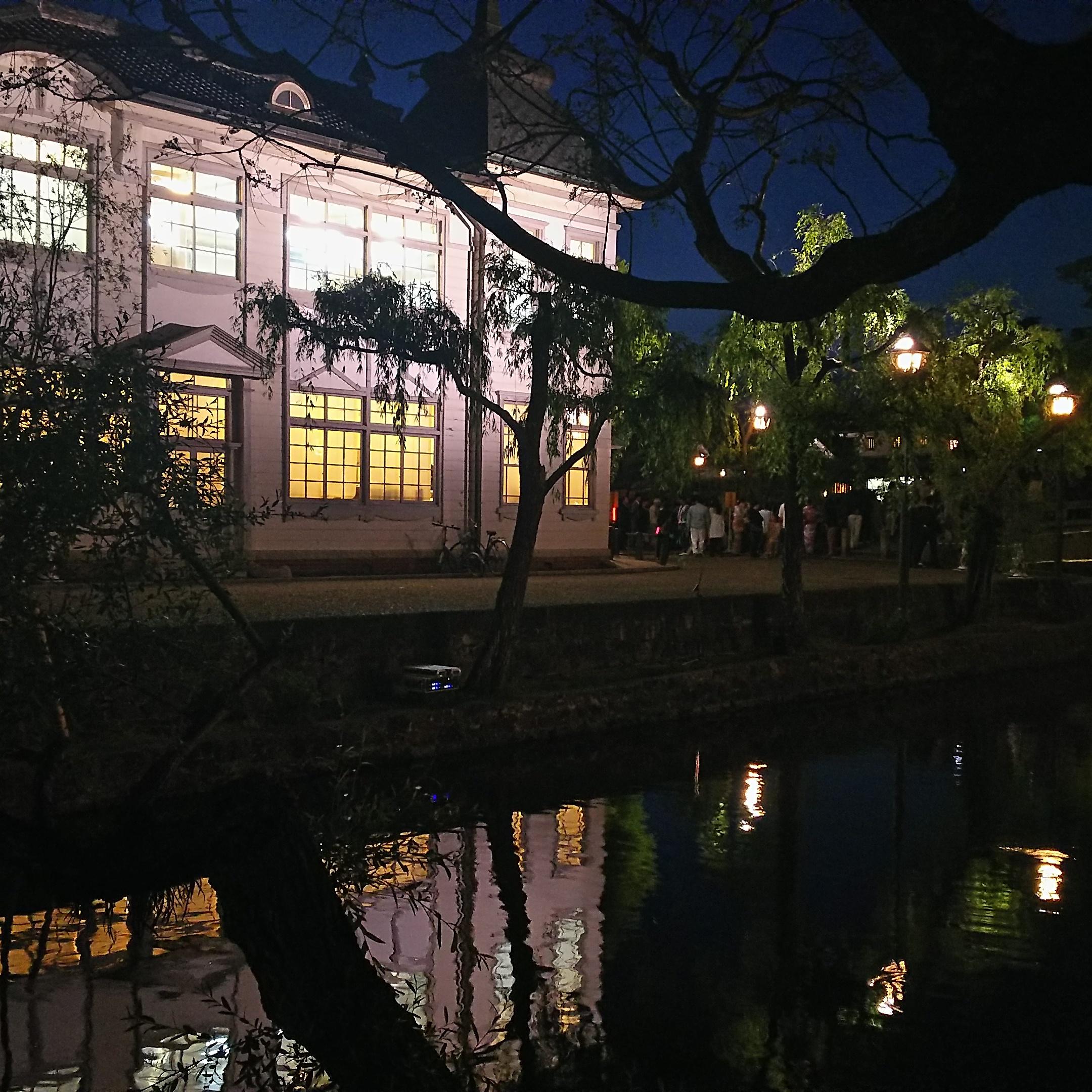 夜景/倉敷館/美観地区/倉敷市
