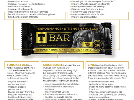 T-Bar, a protein bar with benefits