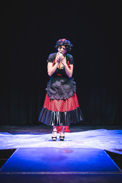 © 2020  Performer and Costume Design: Joy Fully @lovelivingart  Photography: Brynne Levy @brynne.levy