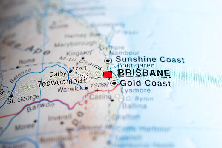 Map view of Brisbane, Australia..jpg