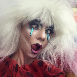 ©2018  Costume Design and Clowning: Joy Fully @lovelivingart  Make Up: Jimmie Sprinkles @jimmiexsprinkles