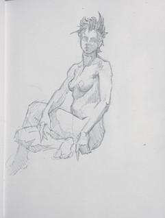 © 2016  Model: Joy Fully @lovelivingart  Artist: David Bollt www.davidbollt.com  Pencil Sketch