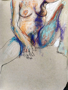 © 2015  Model: Joy Fully @lovelivingart  Artist: Jonnie Pangyarihan  Pastel Drawing
