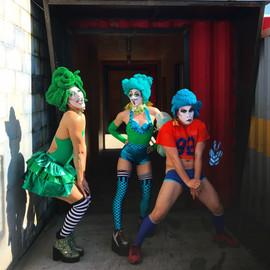 ©2019  Costume Design, Clowning and Makeup: Joy Fully @lovelivingart  Photography: Kenny Rodriguez @kennyrodz
