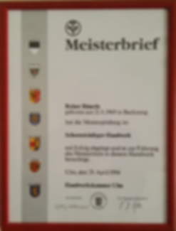 German Master Certification