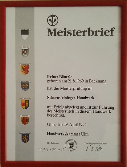 German Master Certification