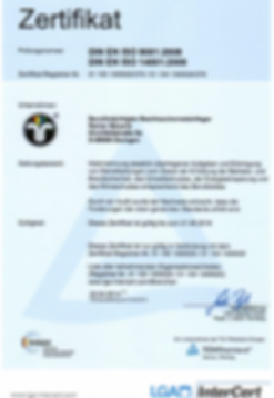 German certificate professional training