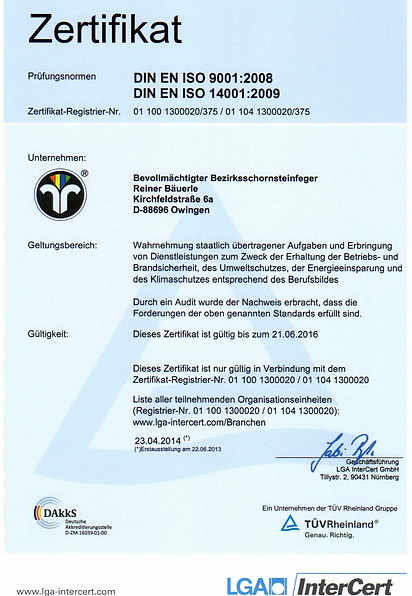 German certificate professional training