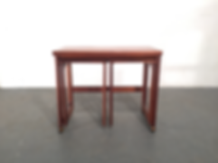 Mcintosh Triform Nest of Tables - Vintage 20th Century Design
