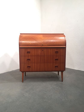 Vintage Scandinavian Writing Bureau - made in Sweden 1960s -OCD