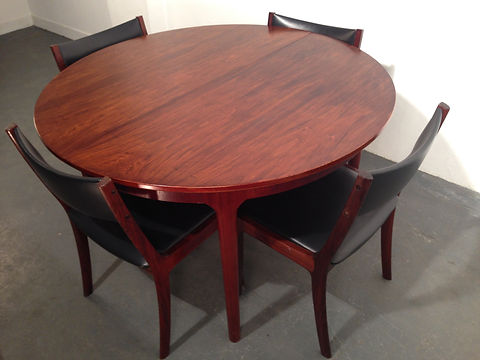 1970s Mcintosh Rosewood Dining Set - Vintage 20th Century Design