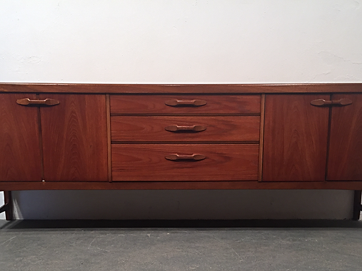 Nathan Longline Sideboard - 1960s Mid Century Nathan Longline Sideboard - OCD Vintage