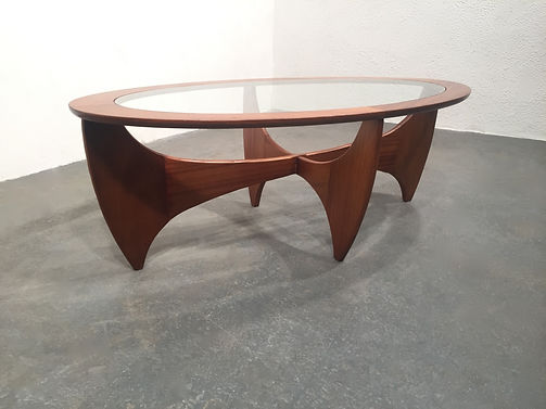 1960s G Plan Oval Astro Coffee Table - Victor Wilkins - OCD