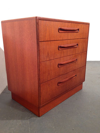 G-Plan Chest of Drawers, 1970s teak chest of drawers by G-Plan