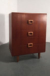 1970s Teak Chest of Drawers - Vintage 20th Century Design