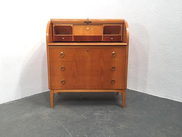 Vintage Scandinavian Writing Bureau - Original Compulsive Design