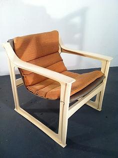 Scandinavian Easy chairs 1970s original