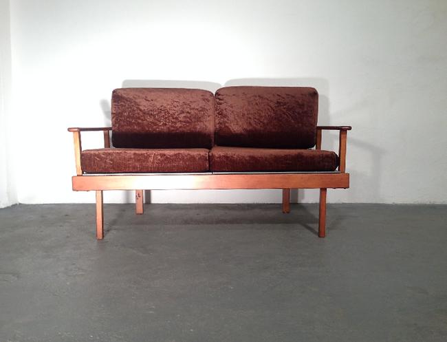 vintage sofa daybed vintage 20th century design - Vintage Sofa