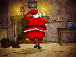 Santa-Dancing