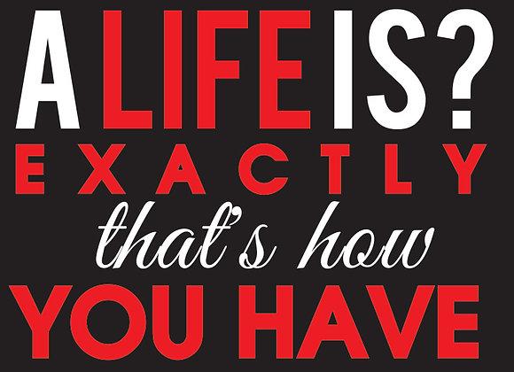Life Is Precious...(Hoodie)