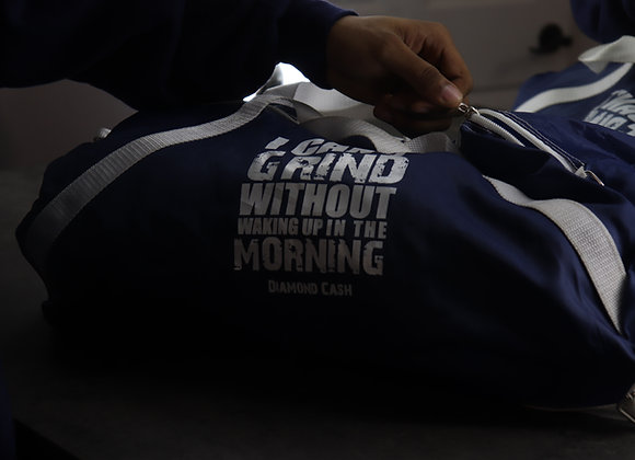 I Can't Grind Without Waking Up In The Morning Duffel Bag