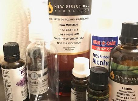 DIY Bug Repellent