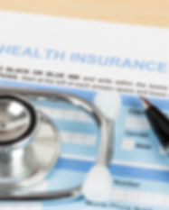 Health insurance application form with p