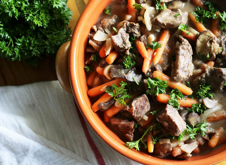 Healthy Beef Stew in the Slow Cooker
