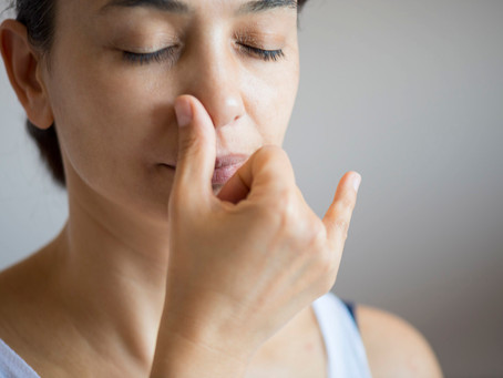 Using Nostril Breathing to Reduce Stress