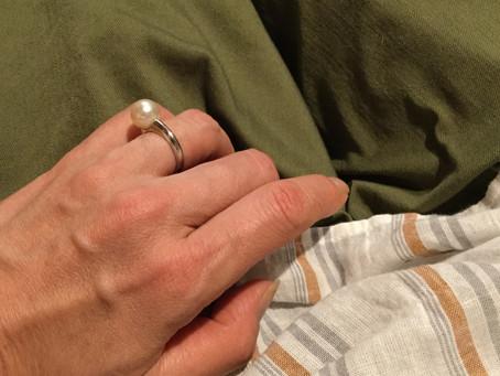 へバーデン結節による指の変形にも