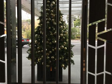 東京プリンスホテルはすっかりクリスマス