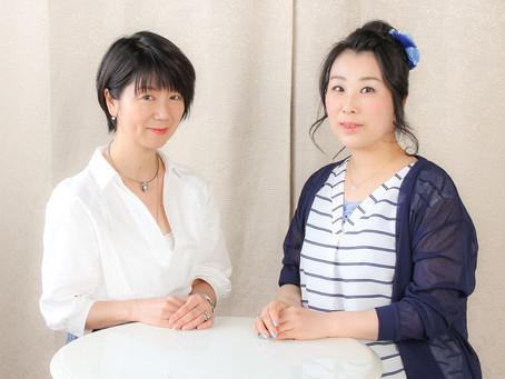 三越劇場でもお馴染みの女優さん 源川瑠々子さんの番組に出演しました