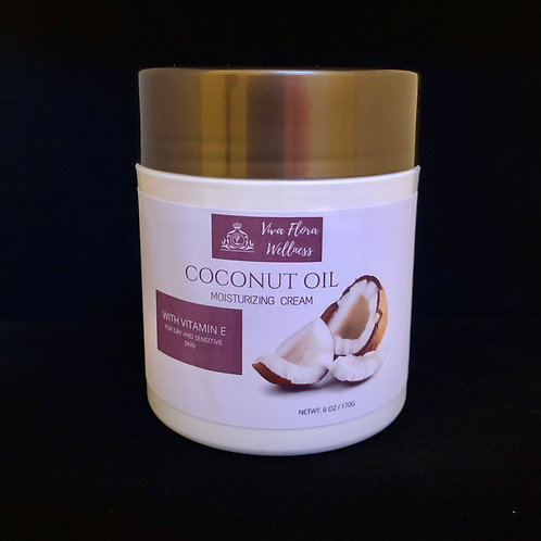 Viva Flora Coconut Oil Moisturizing Cream