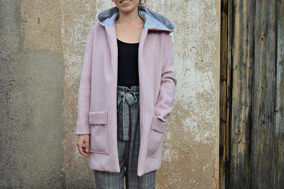 Taller costura - Abrigo con capucha