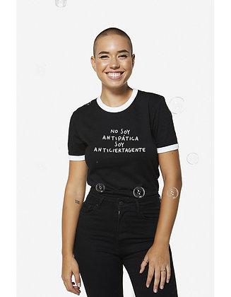 Camiseta No soy antipática