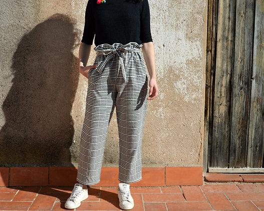 Taller costura - Pantalón paperbag