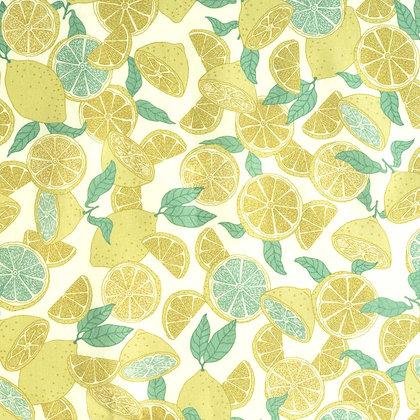 Popelín Summer lemonade