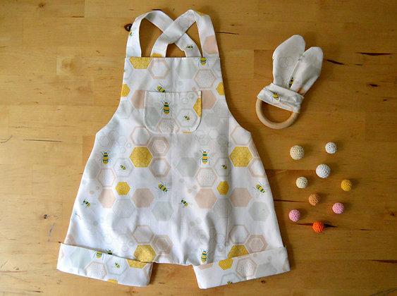 Taller de costura - Peto bebé