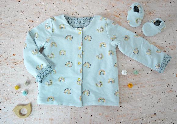 Taller de costura - Chaqueta bebé