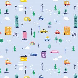 Popelín City traffic